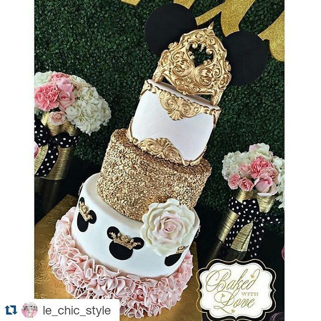 Minnie Pink Cake Inspire Your Party 14