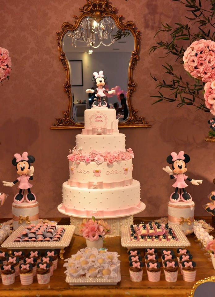 Minnie Pink Cake Inspire Your Party 18