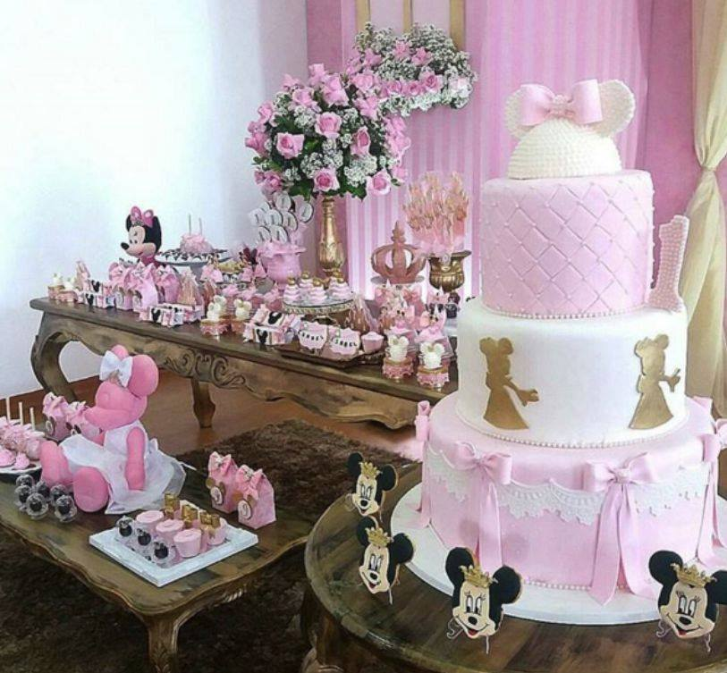 Minnie Pink Cake Inspire Your Party 15